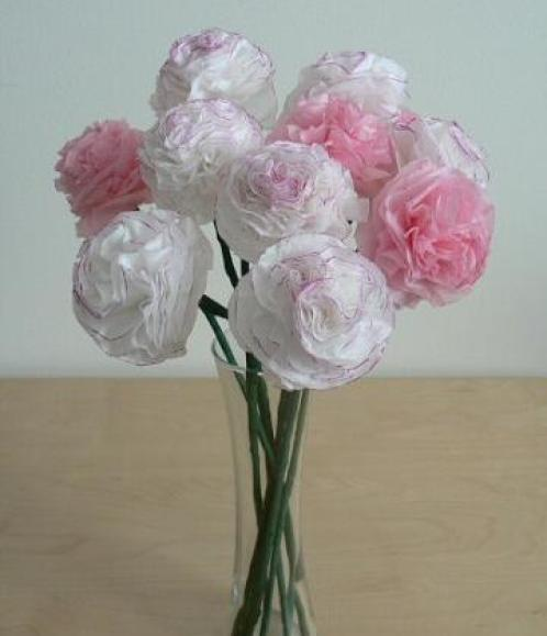 tissue-flowers