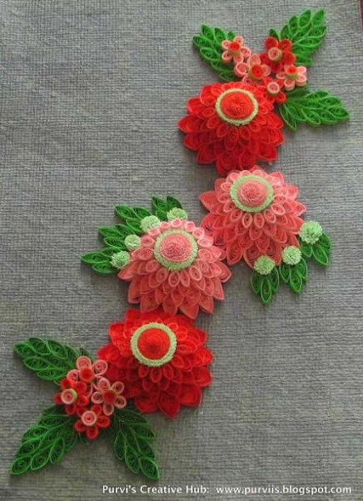quilling-flower-patterns