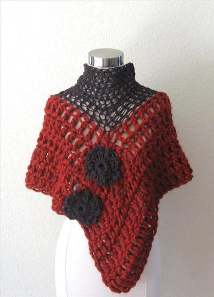 Crochet Poncho Patterns And Designs For Inspiration Life Chilli Adorable Crochet Poncho Pattern Ravelry