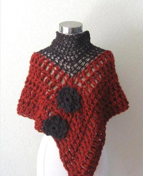 crochet-triangle-shawl