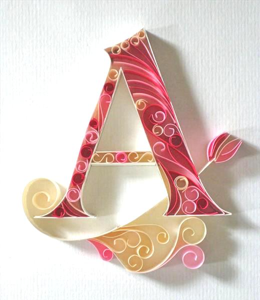 paper-quilling-letters