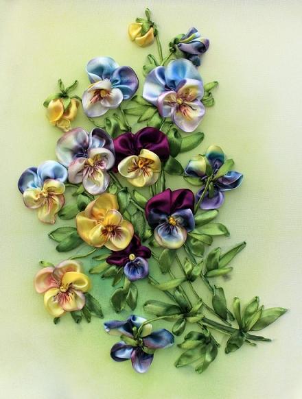 silk-ribbon-flowers