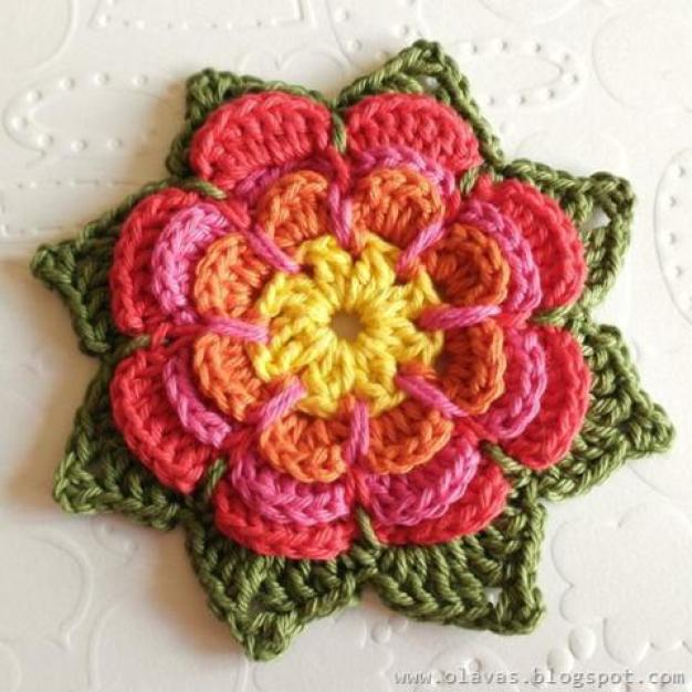 crochet-flower-tutorials