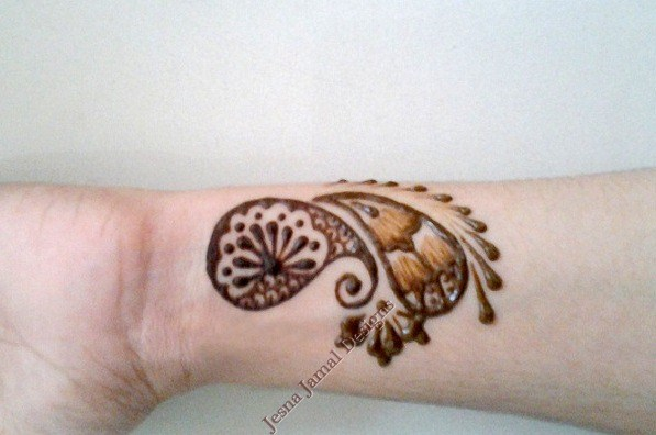 Easy Mehndi Patterns On Paper : Step by easy arabic mehendi designs for beginners
