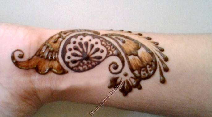 Step By Step Easy Arabic Mehendi Designs For Beginners