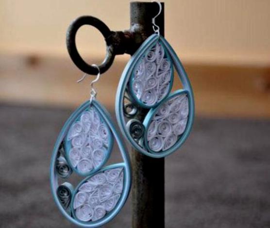 quilling-earrings