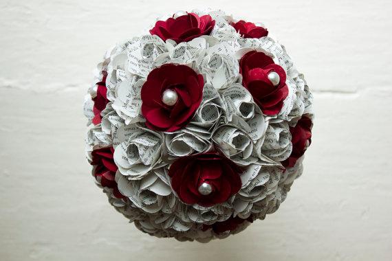 bridal-bouquet-paper