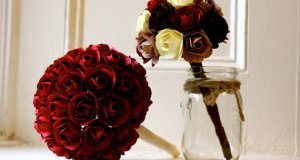 bridal-bouquet-paper-rose