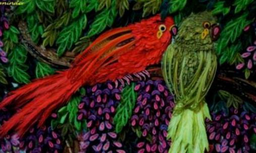 quilled-birds