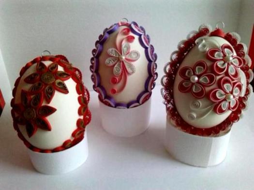 quilling-eggs