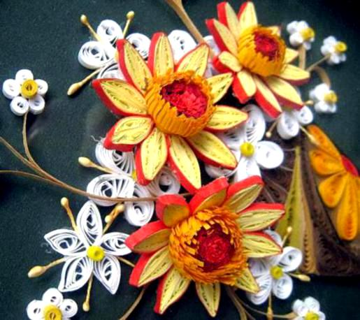 Paper quilling flowers designs life chilli creartive shop quilling flower petals mightylinksfo
