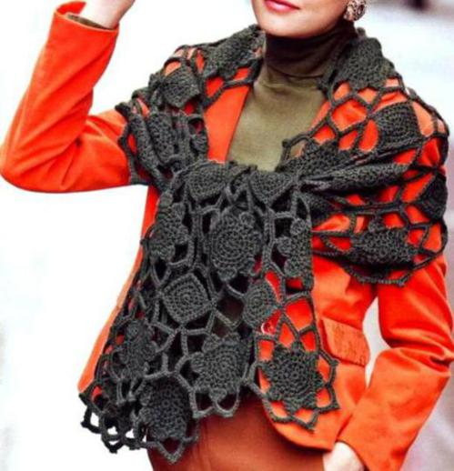 Crochet Shawl Patterns and Designs