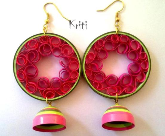 quilling-earrings-designs