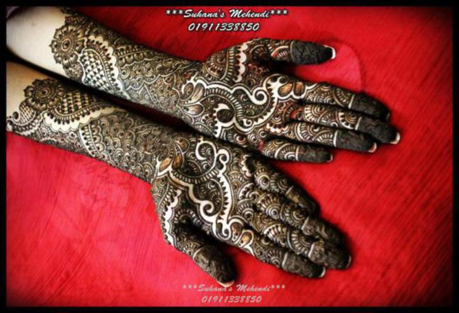 Mehndi Bridal Design Latest : Best mehndi design gujarati bridal designs latest