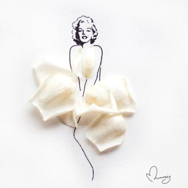 Marilyn-Monroe-art