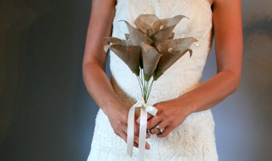 burlap-wedding-bouquets