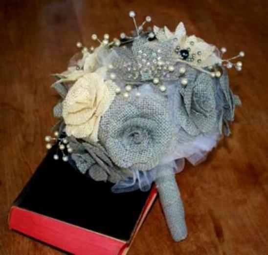 burlap-bouquets