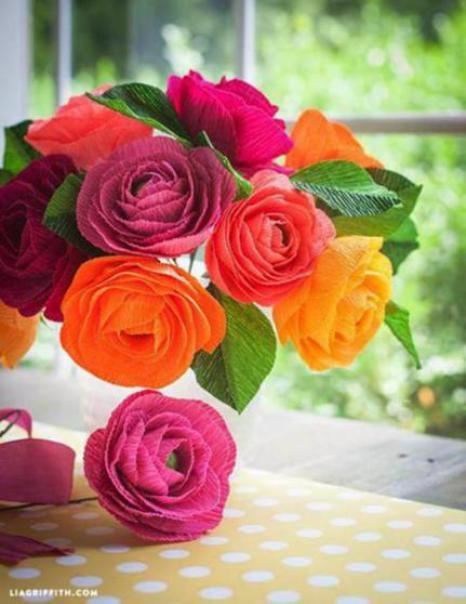 diy-crepe-flowers