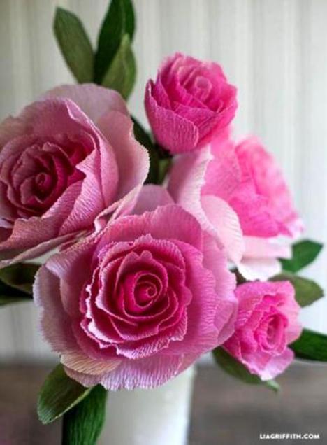 crepe-paper-rose