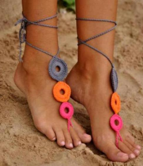 crochet-sandals