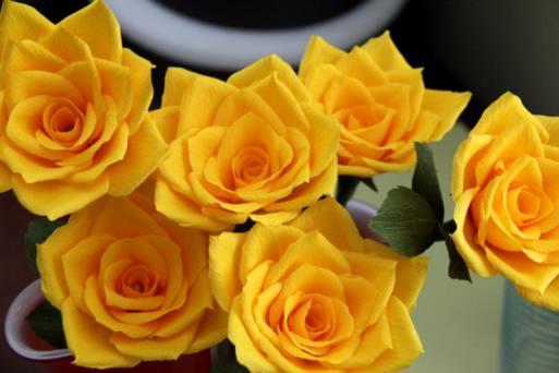 make-paper-rose