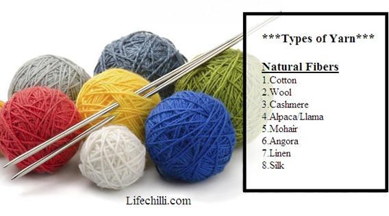 yarn-types