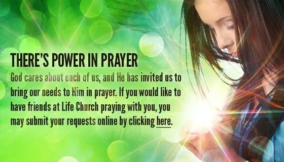 There's Power in Prayer