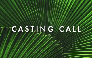 Casting Call for Palm Sunday
