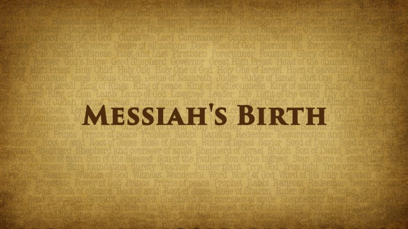 messiahs birth