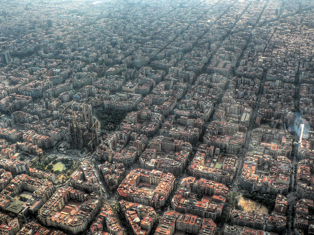 5. Conformity and creativity side-by-side in Barcelona.