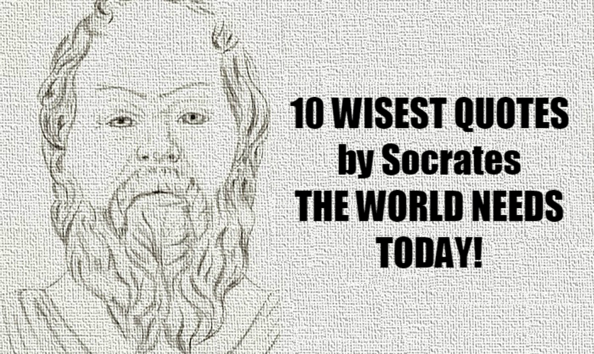 The 10 Wisest Quotes From Socrates That The World Needs to