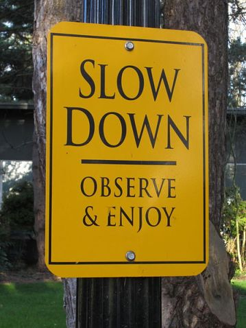 Image result for slowing down