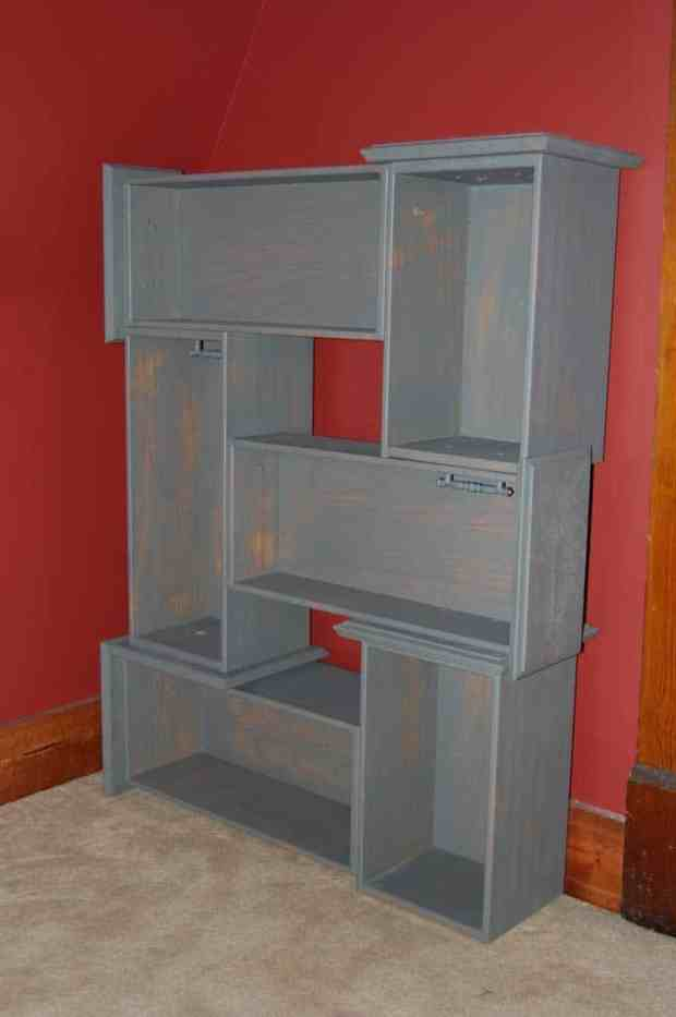 Old Dressers Repurposed Storage