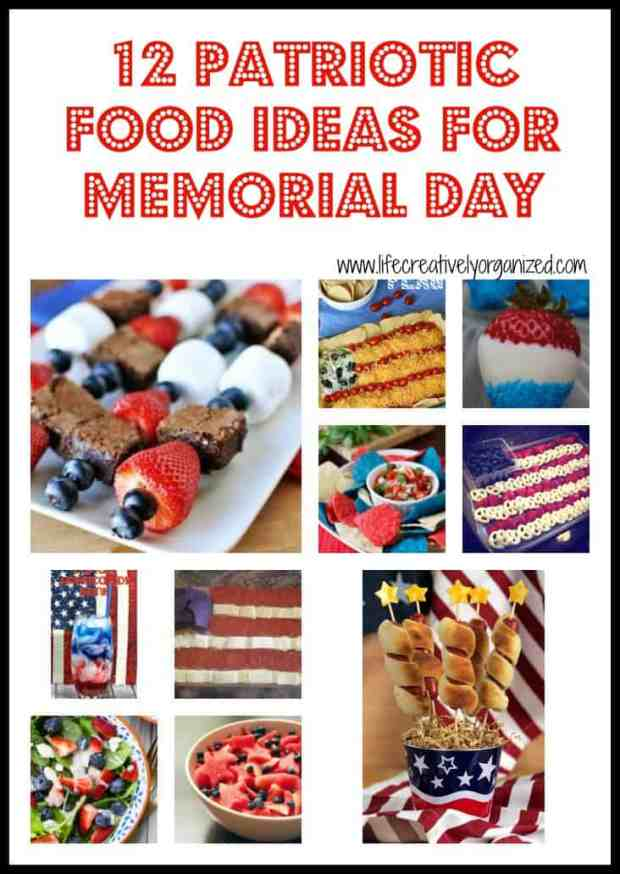 12 Patriotic food ideas for your Memorial Day get-together