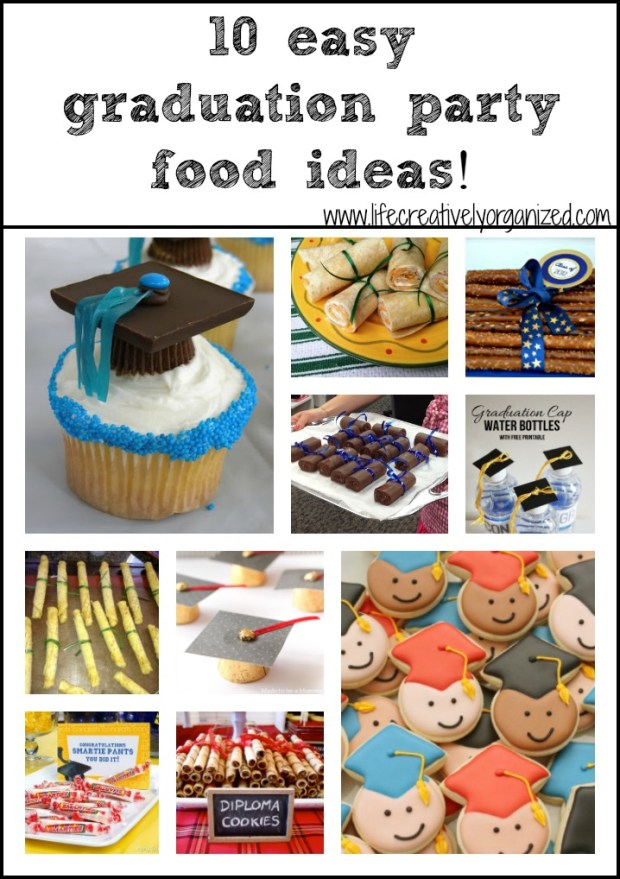 Food Ideas For A College Graduation Party