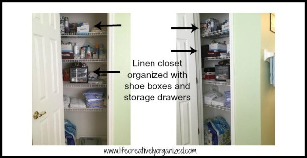 How to (finally) organize your linen closet - Master linen closet storage