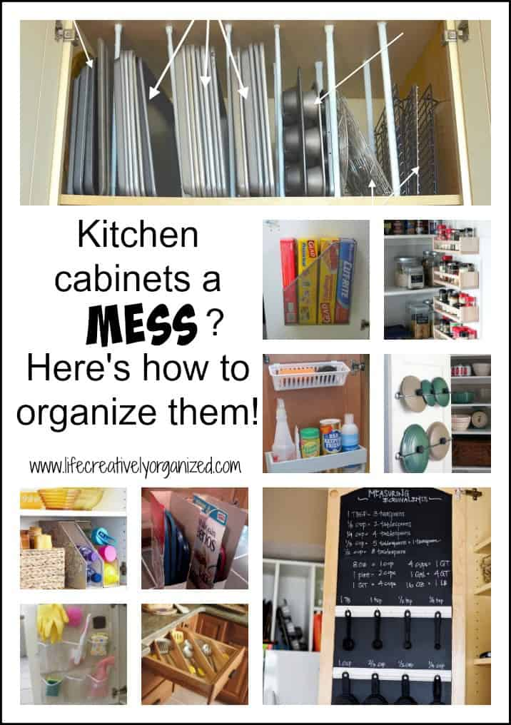 Kitchen Cabinets And Drawers A Mess? Hereu0027s How To Organize Them! Easy And  Inexpensive