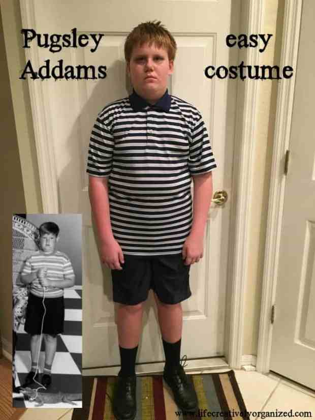 Awesome Wednesday and Pugsley Addams Halloween costumes. Instantly recognizable yet very easy to make. Don't forget Marie Antoinette, Wednesday's doll.