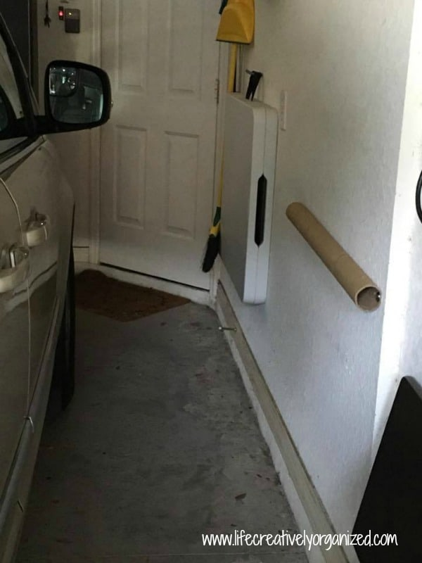 Is your garage a tight fit? Here is a tutorial on how to make a DIY car door garage bumper to protect your car doors when opening them in the garage.