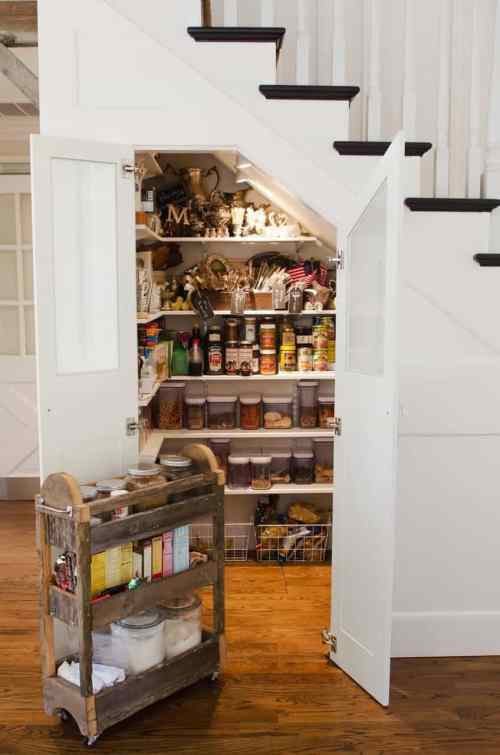 Need more storage? If you have a 2-story house, then you're in luck! Here are some clever ways to use that wasted space under the stairs.