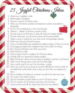 25 joyful Christmas ideas