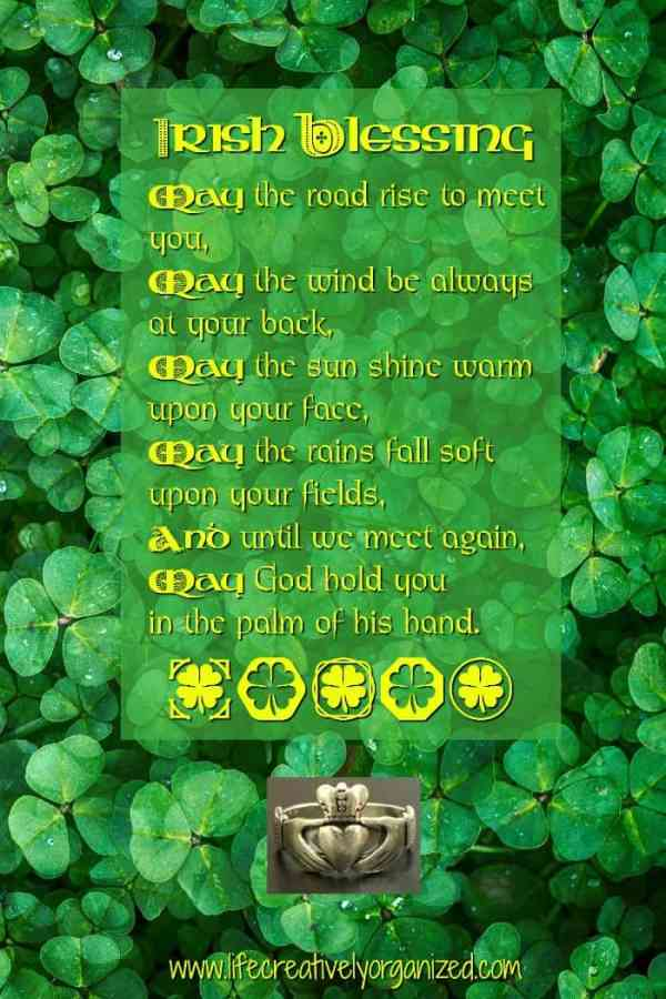 Happy St. Patrick's Day to you! Here are 10 ways to celebrate with recipes, crafts, fun facts about St. Patrick's Day and a free Irish Blessing printable.