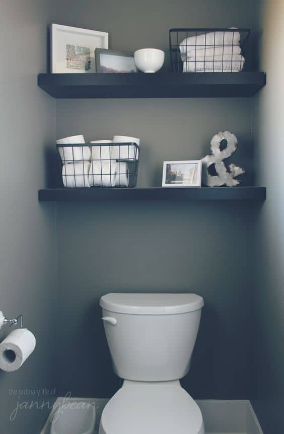 14 ways to add storage using bathroom walls! - LIFE, CREATIVELY ...