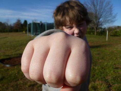 punch of child