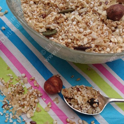 Not just for Breakfast…Granola!