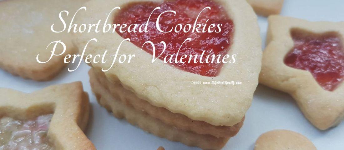 Shortbread Valentines