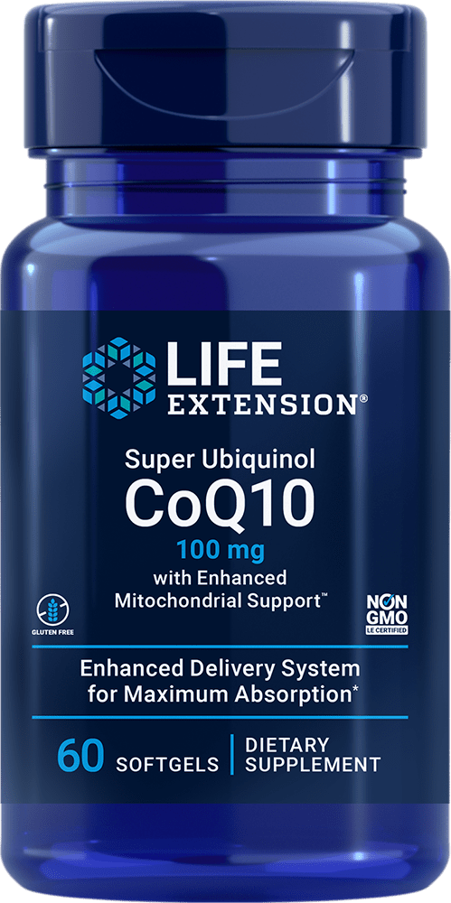 Super Ubiquinol CoQ10 with Enhanced Mitochondrial Support?, 100 mg, 60 softgels