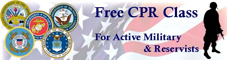 free cpr for active military and reservists - lifeforceusa, inc.