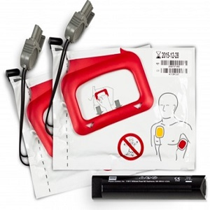 Physio Control LifePak CR Plus - 2 Adult Pads and 1 Battery