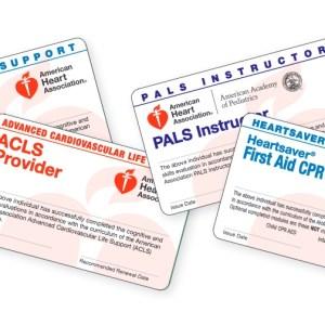 Reprint Certification Cards